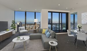 HIGH DENSITY DEVELOPMENT AWARD ABOVE 10 STOREYS Southbank Place Apartments | Central Equity